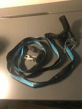 Kurgo Blue/Black/Reflective Long (6ft) Dog Leash