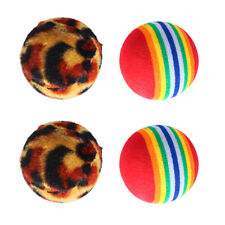 Set of 4 Pet Talking Babble Ball Dog Toy Dog Chew Toy Dog Interactive Toys