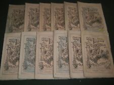 1870 THE LADIES' REPOSITORY MAGAZINE 12 ISSUES COMPLETE YR - ENGRAVINGS- WR 569J