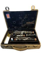 Vintage Leblanc Double L Clarinet Professional Grenadilla Wood 47723 *Serviced