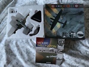 WWII Bombers Atlas Editions Vickers Wellington 1:144 Scale Die Cast Model