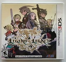 NINTENDO 3DS THE LEGEND OF LEGACY GAME COMPLETE IN BOX FREE WORLD WIDE SHIPPING