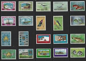 G745 Anguilla / A Small Collection Early & Modern Lhm
