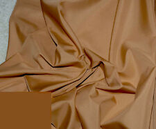 "PONGEE LINING FABRIC CAMEL BROWN   60"" WIDE BY THE YARD  BLOUSES HOME DECOR"
