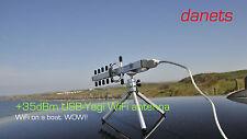 +35dBm USB-Yagi 802.11n High Power Antenna kit 2.4GHz WIFI IN A BOAT WOW!!