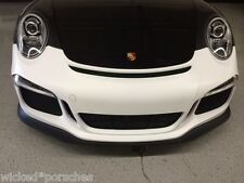 Porsche 991 GT3 Style Front Bumper for all 2012-1016 Carrera, C2, C4, C4S