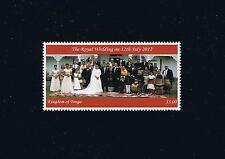 Kingdom of Tonga Royal Wedding Stamp Issue