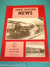 GREAT EASTERN NEWS #107 - SUMMER 2001 - BISHOPSGATE