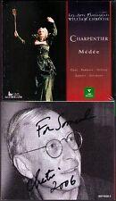 William CHRISTIE Signiert CHARPENTIER: MEDEE Lorraine Hunt Mark Padmore 3CD