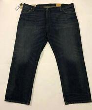 Nwt Mens Polo Ralph Lauren Dark Blue The Hampton Straight Fit Jeans 46 30 $98