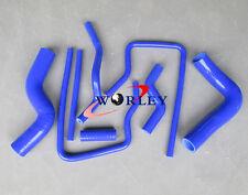 For Subaru Impreza GC8 EJ20 STi WRX 96 97 98 99 00 BLUE Silicone Radiator hose