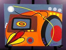 """""""Turning Into Cosmos"""" Original Acrylic Painting - Galina Jenkins"""