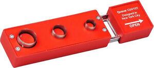 Colibri Cigar Punch Quasar Red - Stainless Steel Blades - 7/9/12 MM Cut
