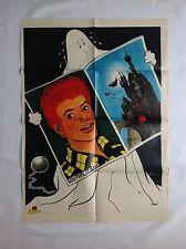 BD - Supplement Spirou 2191 Poster Jacques Le Gall / 1980 / M.TACQ / RARE