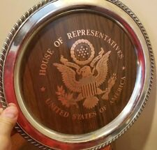 "House Of Representatives Metal 12"" Tray United States Of America - Dondero Inc"