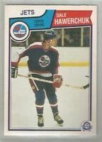 Dale Hawerchuk Winnipeg Jets 1983-84 O-Pee-Chee #385