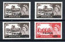 More details for british postal agencies in e arabia 1955-60 gb castles both vals + varieties mlh