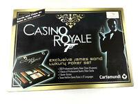 Cartamundi Casino Royale 007 Poker Set Coffret Complet en boite  Envoi suivi