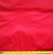 Red PUL Polyurethane Laminated Waterproof Washable Fabric FQ Half Full Metre