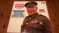 Clive Dunn – Grandad Requests 'Permission To Sing Sir' Vinyl LP 33rpm 1970