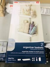 Rubbermaid Fasttrack Closet, 2 Organizer Baskets, Brand New