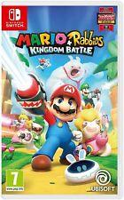 Mario y & Rabbids Reino batalla | Nintendo Switch NUEVO