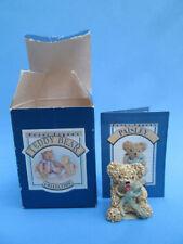 Sweet Little COLOUR BOX Miniatures - Paisley the Teddy Bear - Peter Fagan