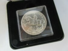 More details for 1935 george v rocking horse silver specimen crown coin ref spink 4048 box/coa a3