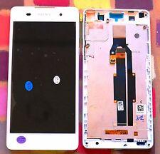 Genuine bianco Sony Xperia E5 f3311 f3313 HD IPS SCHERMO LCD TELAIO