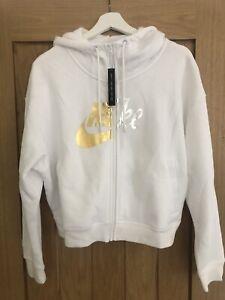 Womens White Nike Jacket Medium