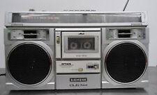 Älteres Kassetten Radio Kofferradio Siemens Club 744 Boombox Ghettoblaster ~80er