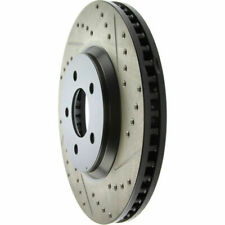 Front Left Brake Rotor For 2005-2014 Ford Mustang 2009 2006 2007 2008 Centric