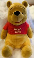 Extra Large Sitting Winnie The Pooh, Fisher Price, 2003, Disney, Toy, Bear, NEW