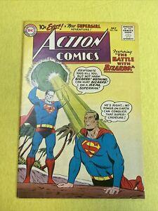 ACTION COMICS #254 (1959) VG- 1st app adult Bizarro 3rd app Supergirl |