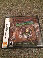 Mystery Case Files - MillionHeir - Nintendo DS Game