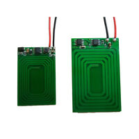 1 pair 5V-12V Wireless Charging Module Charger Power Supply PCB For Cell Phone