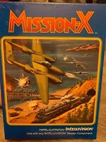 MISSION X, INTELLIVISION GAME, BRAND NEW FACTORY SEALED ONLY ONE ON EBAY MATTEL