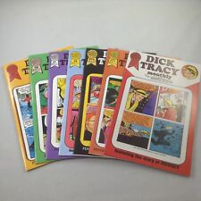 Dick Tracy Monthly, 1986/1987   Lot of 7