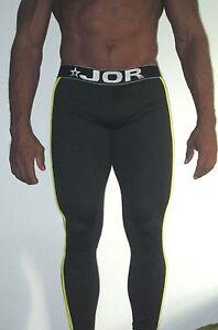 JOR Fitness Legging Gladiator Athletic Pant Black (Medium)