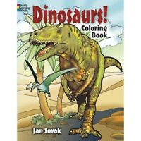 Dinosaurs! Coloring Book by Dover  - Dinosaurs!