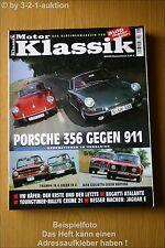 Motor Klassik 8/03 Porsche 911& 356 TR 4 & 6 VW Käfer