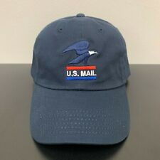 Vintage USPS Retro Adjustable Hat United States Postal Service White