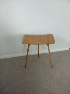 Ercol end table extension 265 Ercol side table desk console vintage mid century