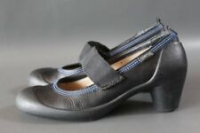 CAMPER Schuhe 38 schwarz Mary Jane shoes Leder schwarz TT16