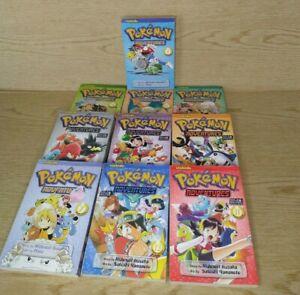 Pokemon Adventures Manga Lot of 10 Viskids Very Good Fast Shipping!
