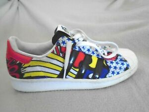 ADIDAS SUPERSTAR 80S RITA ORA X TRAINERS LIMITED EDITION SIZE 7 UK 40.5 EURO C11