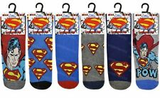 6 Pairs Mens Official Character Socks Novelty Cartoon Comic Tv Theme Adults 6-11