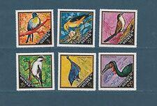 Guinée république  faune oiseaux  1971  num : 440/45  **