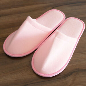 Unisex Hotel Travel Spa Portable Disposable Slipper Home Guest Hotel Guest Shoes