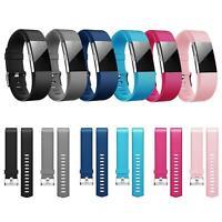 6x Fitbit Charge 2 Armband Ersatz Silikon Band Uhrenarmband Fitness  + 6x Folie